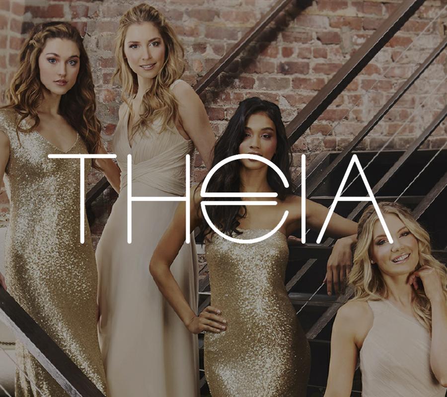 Theia bridesmaid prom graduation special occasion dress
